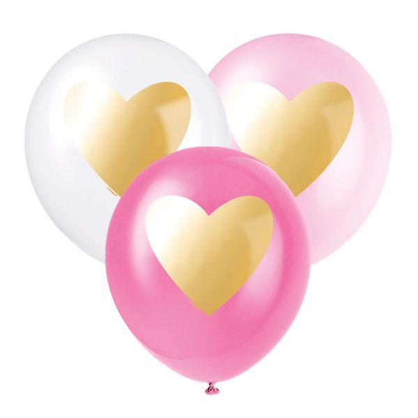 个性化爱心乳胶气球