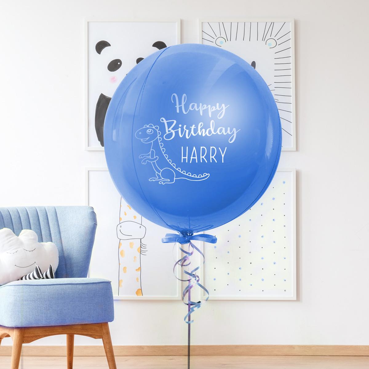个性化生日珠光气球